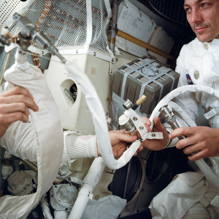 Jack Swigert on Apollo XIII