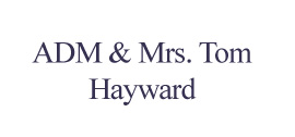 Admiral and Mrs. Tom Hayward