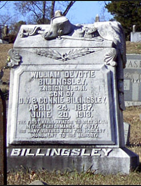 Billingsley Headstone
