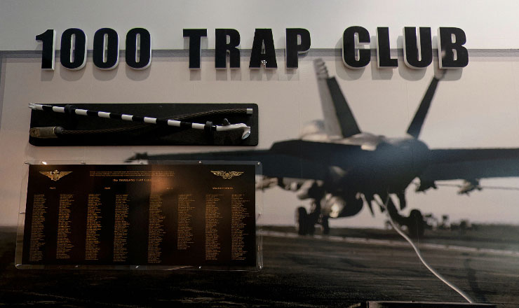 1000 trap club national naval aviation museum - Mezzanine trap ...