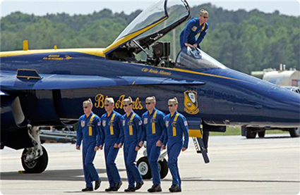 Blue Angels. The National Naval Aviation ...