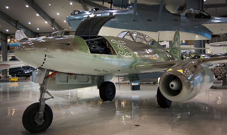 Me 262 National Naval Aviation Museum